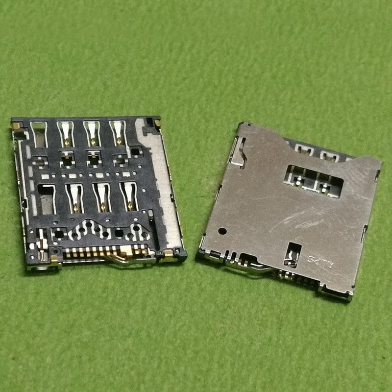 10pcs sim card reader slot tray module holder connector for HTC ONE S Z520E 8S A620E A620D A620T z560e t528W t528t t528d socket