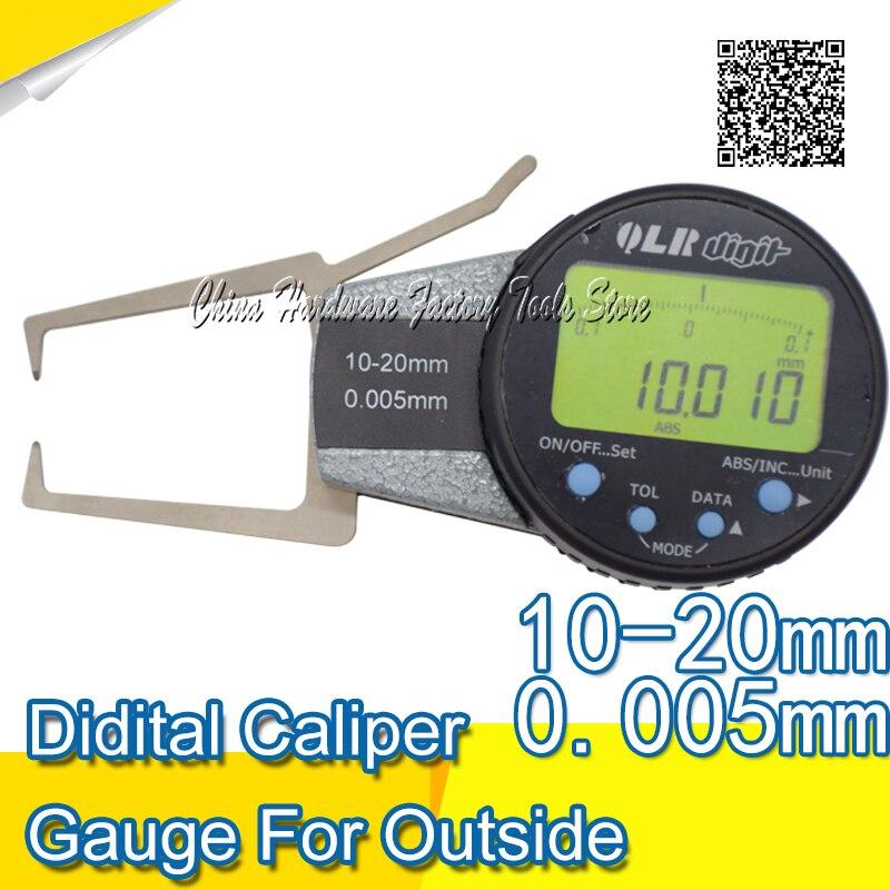 10-20mm Digital caliper gauge for outside measurement caliper gauge digital indicator
