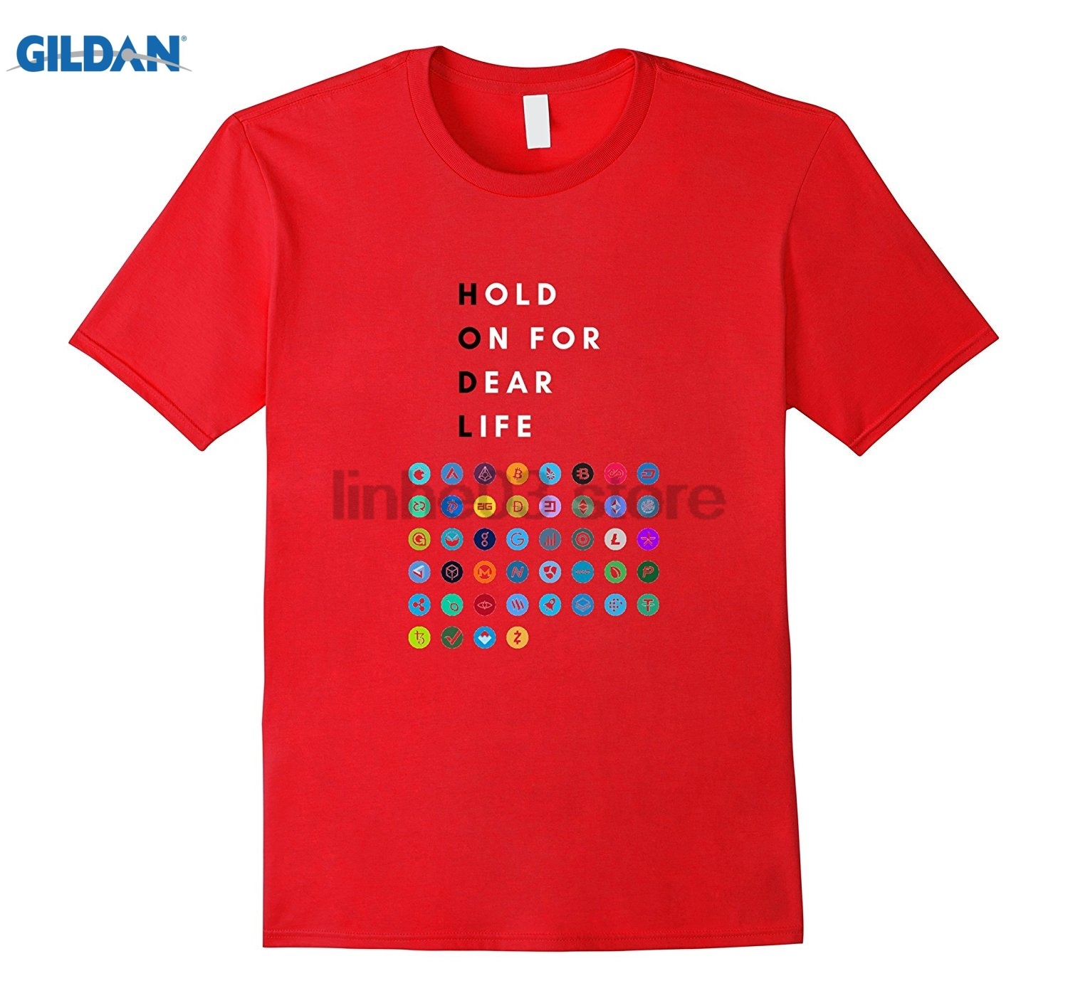 GILDAN Hodl! - Never sell Bitcoin, Ethereum, Litecoin Womens T-shirt ...