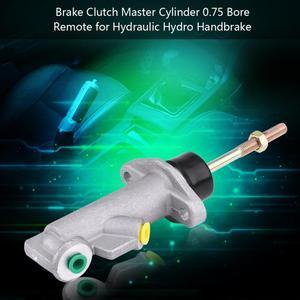 Image 3 - Hamulec ręczny ze stopu aluminium pompa główny Cylinder sprzęgła hamulca samochodowego 0.7 otwór zdalny do hydraulicznej pompy hamulca ręcznego Hydro