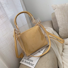 Summer Transparent Jelly Bag Crossbody Tote Bags Women 2019 Quality PVC Luxury Handbags Designer Ladies Beach Clear Shoulder Bag все цены
