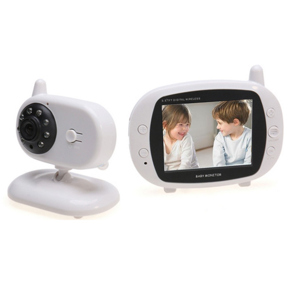 MBOSS 3.5 นิ้ว Wireless Video Baby Monitor Night Vision Baby Sleep การตรวจสอบดิจิตอลอิเล็กทรอนิกส์เด็กทารก Walkie Talkie-ใน จอสำหรับดูเด็กทารก จาก การรักษาความปลอดภัยและการป้องกัน บน AliExpress - 11.11_สิบเอ็ด สิบเอ็ดวันคนโสด 1
