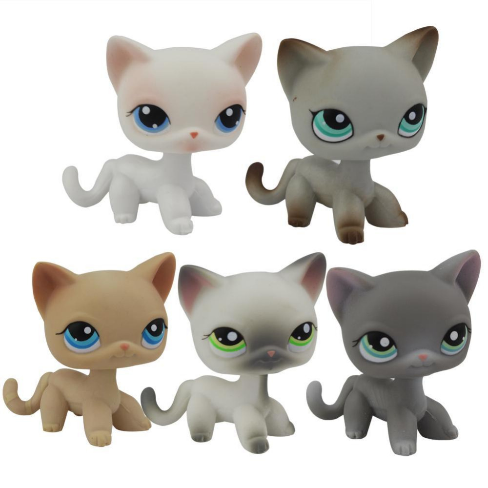 Lovely Genuine Pet Collection Toys Animal Cartoon Cat Action Figure Children gift 5 types pet great dane pet toys rare old styles dog lovely animal pets toys lot free shipping