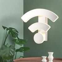 屋内 11 ワット Led ウォールマウントライト器具ステンレス鋼ランプ Wifi サインリビングルームホテルカフェパブシルバーシェル