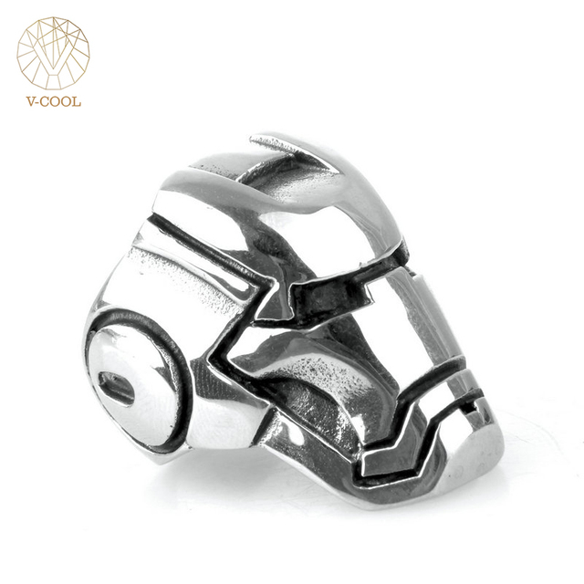 Free Shipping European Style Stainless Steel Wedding Band Hip Hop ...
