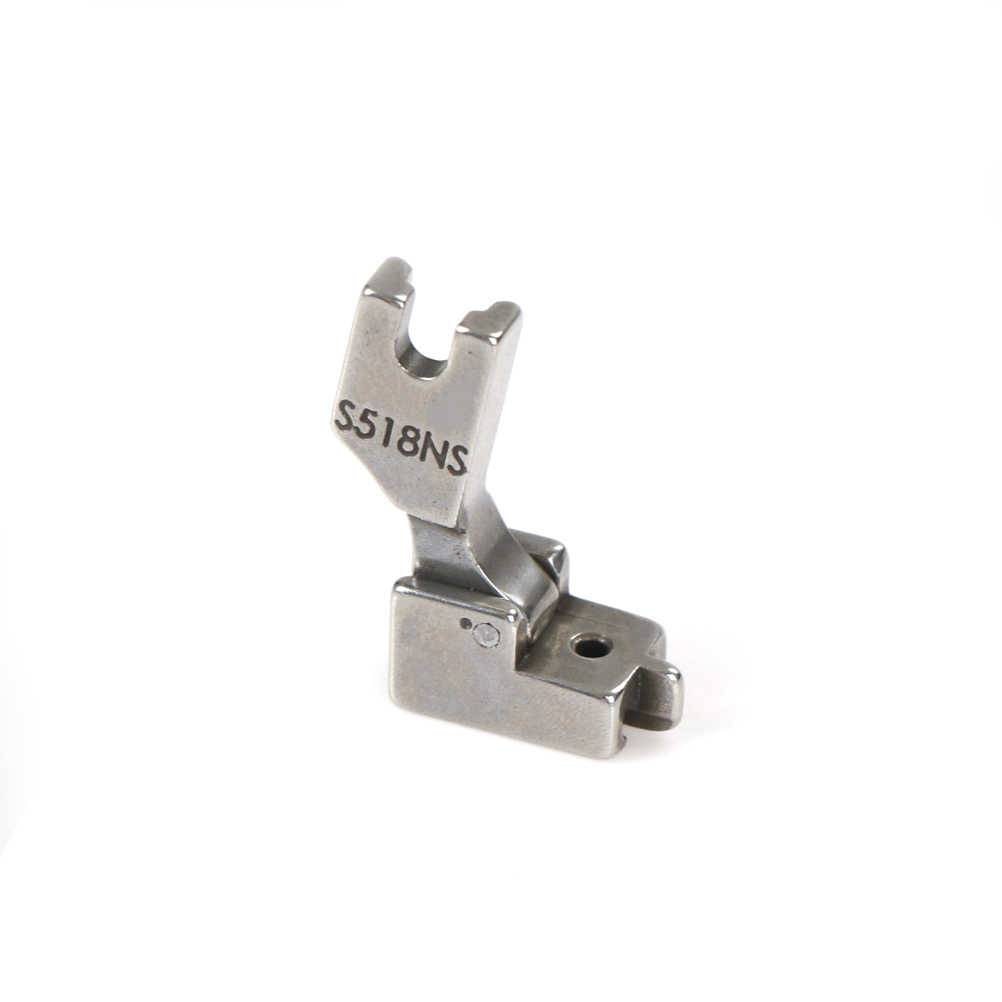 1pc Zipper Presser Foot  steel S518NS invisible zipper feet with cneter guide sewing machine spare part
