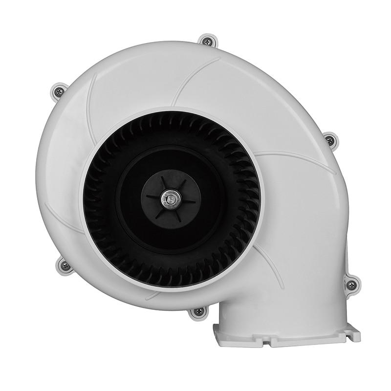 ФОТО SEAFLO 320CFM Efficient High Volume Air Flow 24V Boats ventilation Bilge Blowers Plastic Electric
