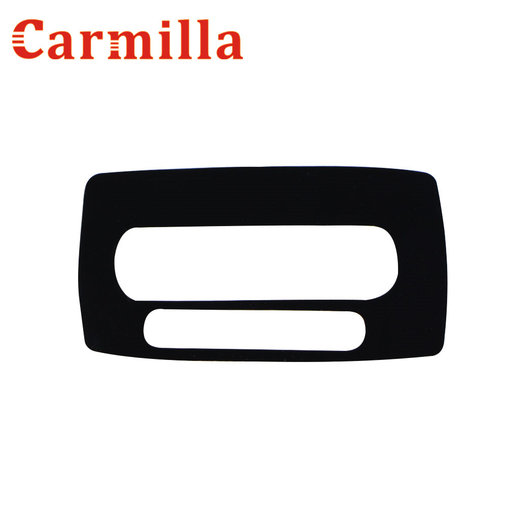 Carmilla Car Inner AT Gear Panel Decoration Cover Sticker For Ford Fiesta Ecosport 2013 2014 2015 2016 Accessories цена