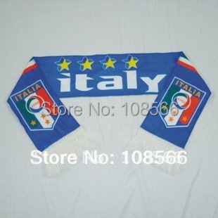 Wholesale Italy scarf/Italy Fans scarves/Italy Souvenirs