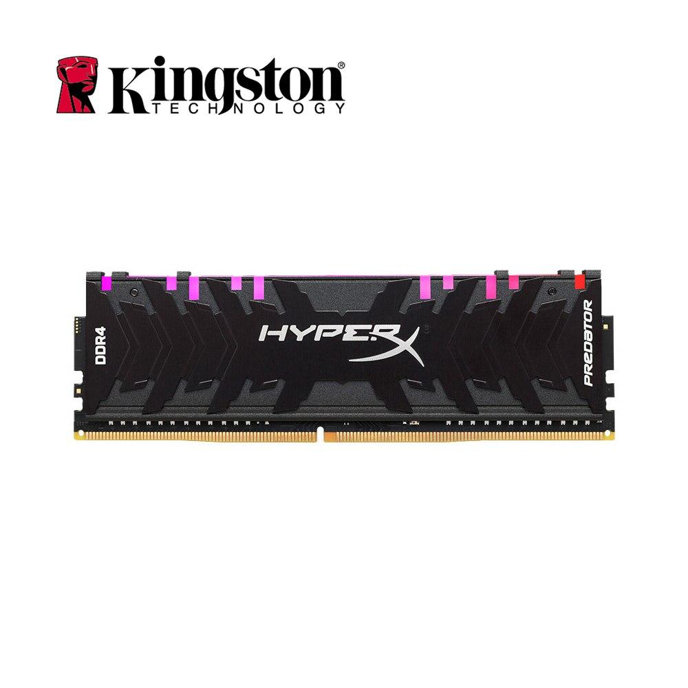 Kingston HyperX Predator Black 8GB 2933MHz DDR4 High Speed CL15 DIMM 288-Pin Ram Memory Intel Gaming Ram for Desktop Memory Rams цены