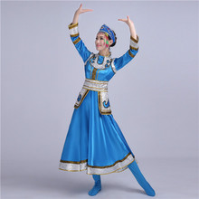 New Mongolian performance clothing minority square dance Mongolian performance costume Hongyan dance clothes chopsticks dance music driven dance synthesis by multimodal dance performance analysis