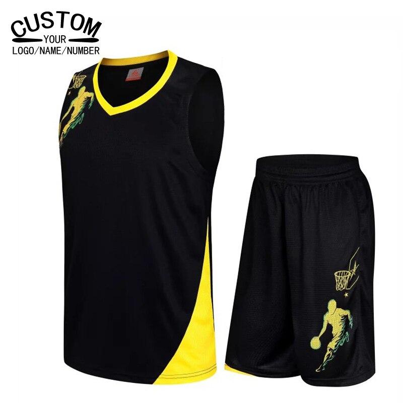 Prix pour 2017 Hommes/enfants profession unifrom de basket-ball vêtements set femmes de basket-ball jersey Clothing garçons enfants paragraphe Formation Costume