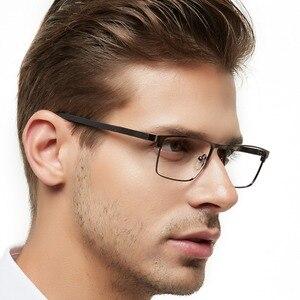 Image 2 - OCCI CHIARI גברים משקפיים מסגרת משקפיים אופטיים מסגרות ברור עדשת זכר משקפיים Oculos דה גראו יום אב מתנה W CRIFO