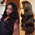 Hotsale Unprocessed Virgin Brazilian Lace Front Wig Glueless Body Wave Lace Front Human Hair Wigs With Baby Hair for Black Women