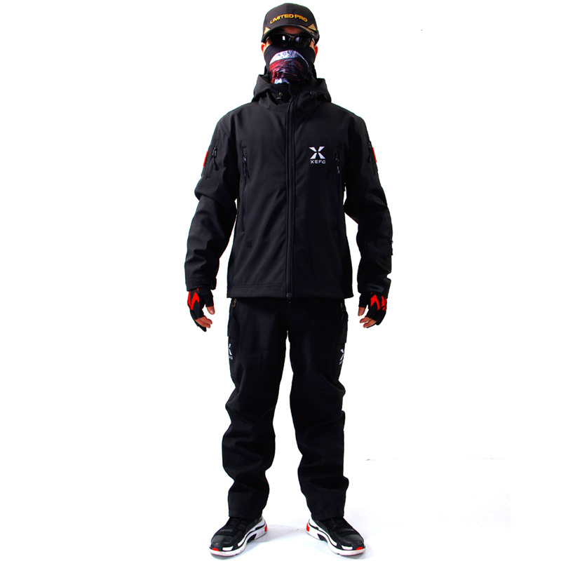 2018 High Quality Fishing Clothing Sets Men Breathable Outdoor Sportswear Suit Winter Fishing Shirt and Pants  FS041 2016 daiwa warm fishing clothing sets men breathable sun uv protection outdoor sportswear suit fishing shirt fishing pants