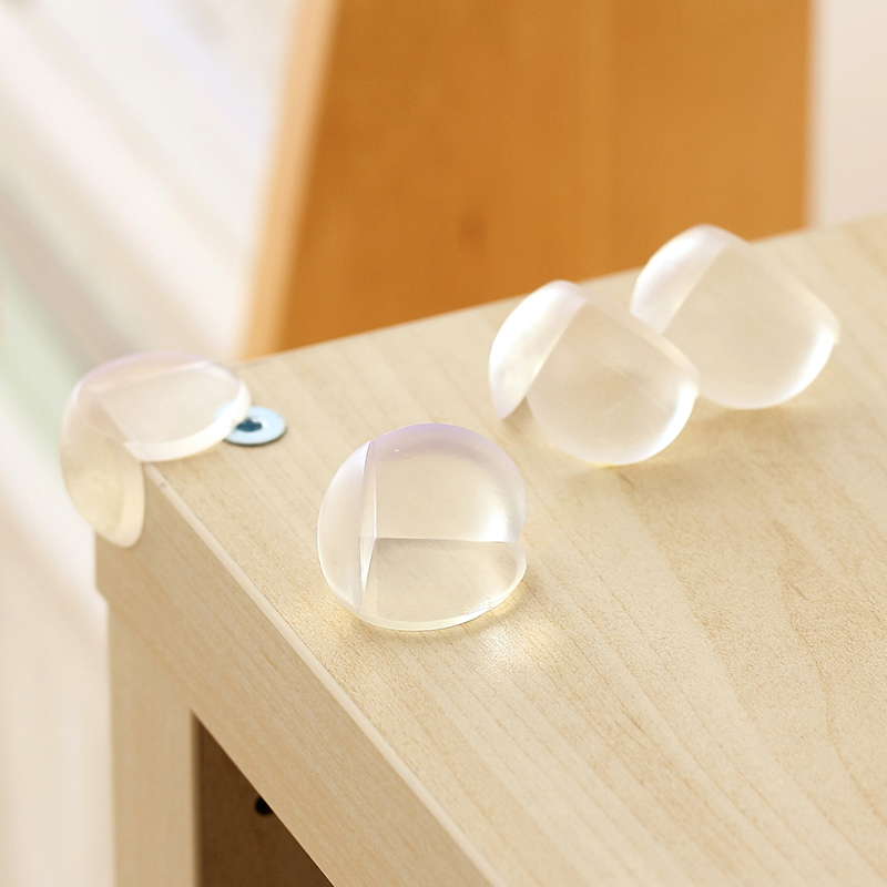 10pcs/lot  Table Corner Baby Safety Silicone Protector Children Safety Edge & Corner Guards Protection