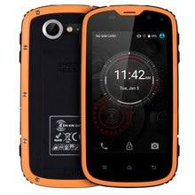 E & L W5 смартфон IP68 Водонепроницаемый противоударный 8 ГБ Встроенная память Android 6.0 4 ядра Dual SIM 4.0 дюймов 4 г пыле разблокирована сотовых телефонов