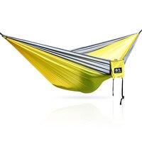 Hammock Hanging Hammock Tenda Único Acampamento Ao Ar Livre Rede Com Mosquiteiro