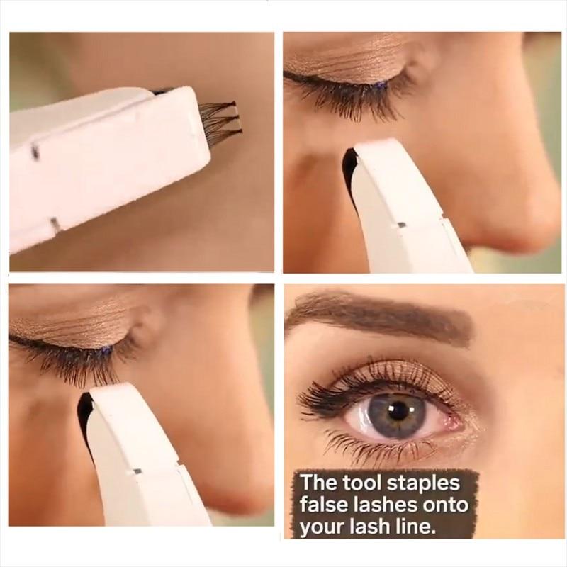 Eyelash Stapler Instructions