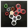 4 Cor Tri-Spinner Fidget Brinquedo EDC Mão Rotação Spinner Com rolamentos De Cerâmica Longo Anti Stress Brinquedos Para O Autismo e TDAH