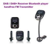Lenvio Car DAB+ Digital Radio In car with FM Transmitter LCD Display Bluetooth Hands free Digital Audio Broadcast USB Charger