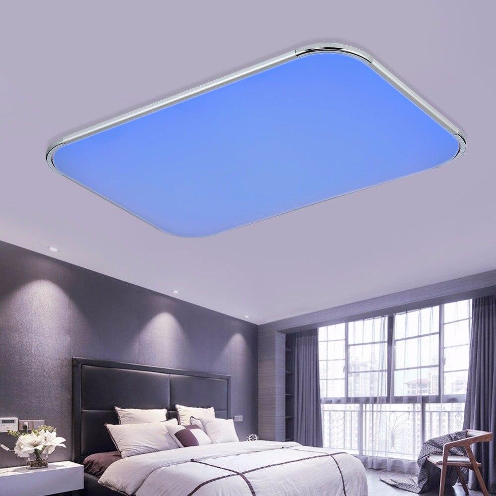 Moderne Led deckenleuchten Wohnzimmer 2,4G Fernbedienung Gruppe ...