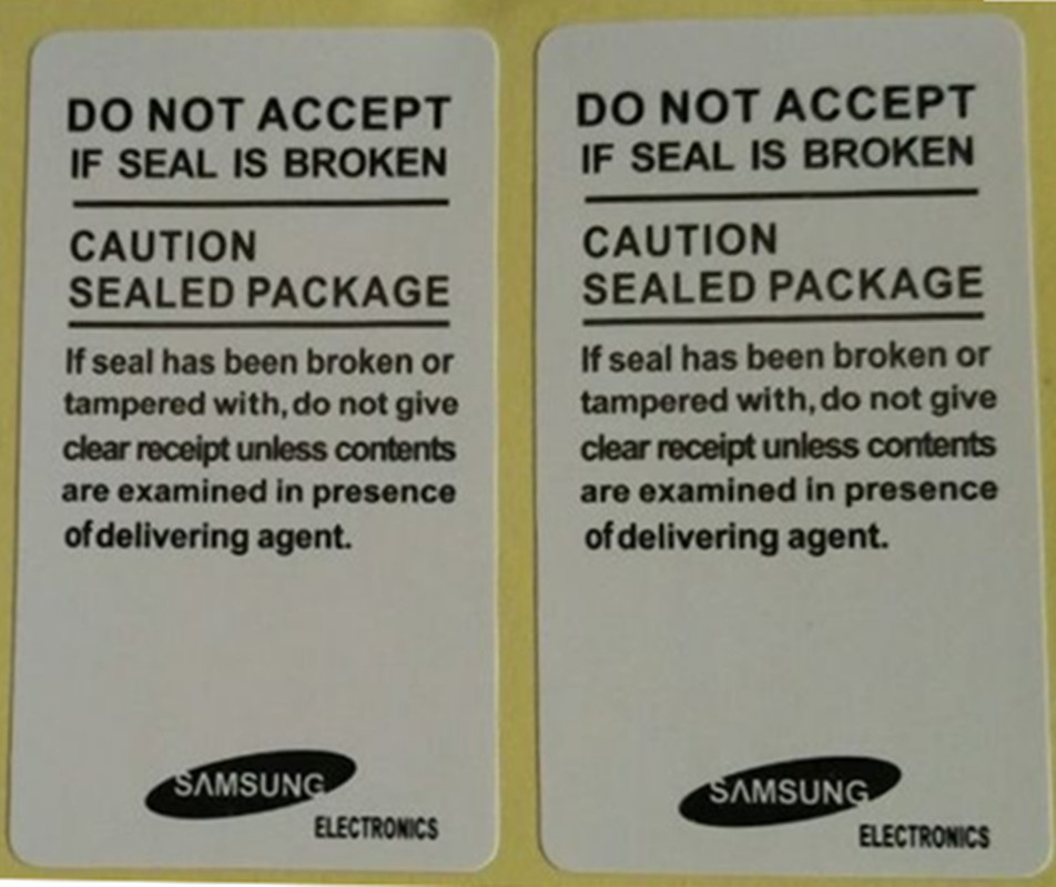1000 PCS/Lot Universal Mobile Phone Seal Label Sticker Samsung Galaxy S4 I9500 S3 S2 Delivery Free Of Charge
