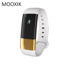 MOOXIK M4 smart watch sports bracelet fitness tracker bluetooth 4.0 above heart rate monitor sleeping monitor for men and women