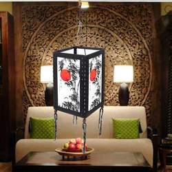 Asian Oriental Home/sypialnia/salon Zen dekoracja biurka/stół/lampy podłogowe zawieszenie oprawa zwisające lampy wiszące