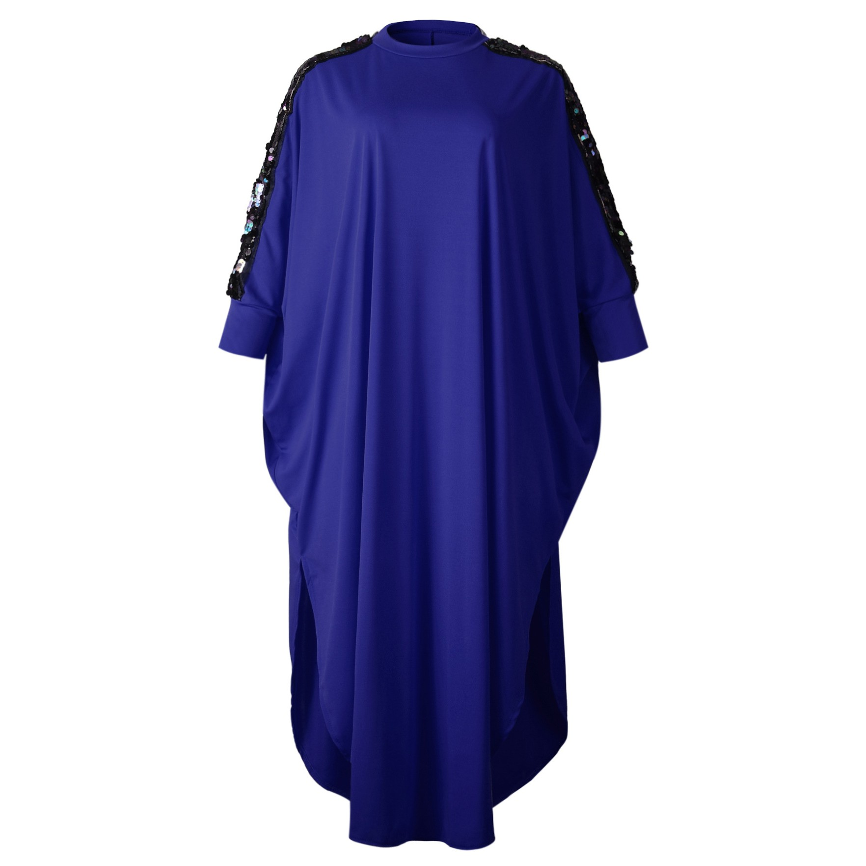 3XL Plus Size Africa Clothing African Dresses For Women Sequined Muslim Long Dress Length Fashion African Dress For Lady