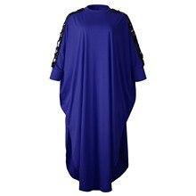 3XL grande taille afrique vêtements robes africaines pour les femmes paillettes musulman longue robe longueur mode robe africaine pour dame