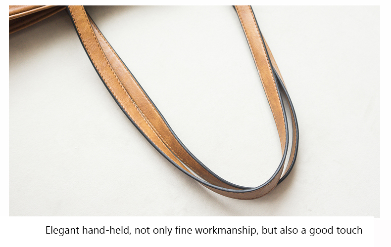 Rivet Leather Women Tote Handbag 37