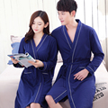 Spring Sexy Women Sleepwear Nightwear Kimono Robe Soild Summer Casual Cotton Couples Bathrobe Belt Elegant Bathroom Spa Robe 3XL