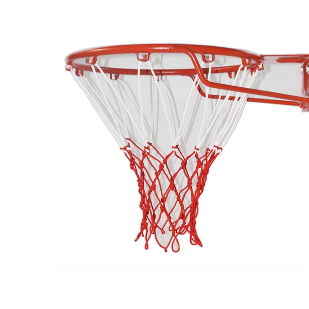 Indoor Outdoor Heavy Duty Basketball Net Replacement Wear-resistant Nylon Basketball Net Durable Rugged Fits Standard Rims