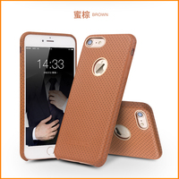 Full Grain Leather Business Cover For Iphone6 4 7 Qialino Brand Genuine Natural Cow Skin Case