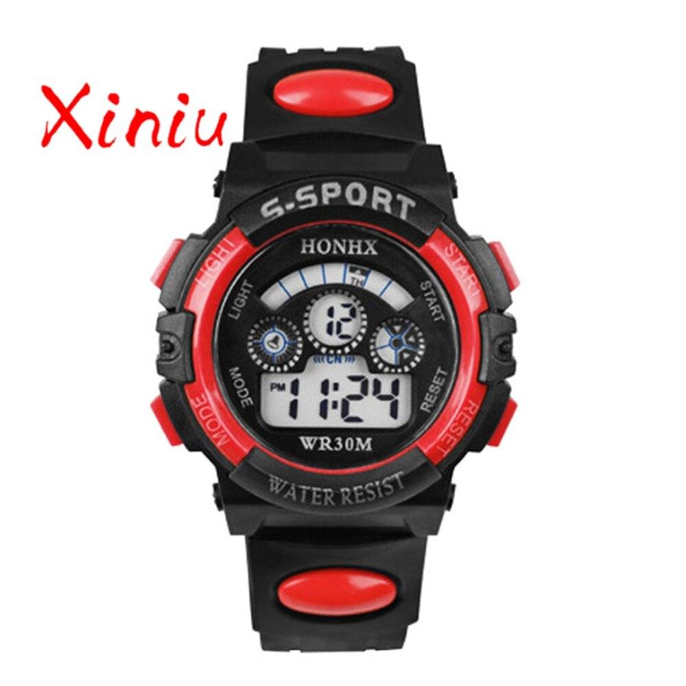 Honhx Children Watch Kids Boy Digital Quartz Date Fashion Sports Wristwatch Girl Watches Gifts Drop Shipping #3