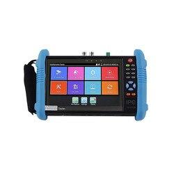 9800 плюс 4 к H.265/H.264 CCTV тестер монитор 8MP CVI TVI AHD SDI аналоговый IP камера тестер (мультиметр, TDR, кабель tracer опционально)