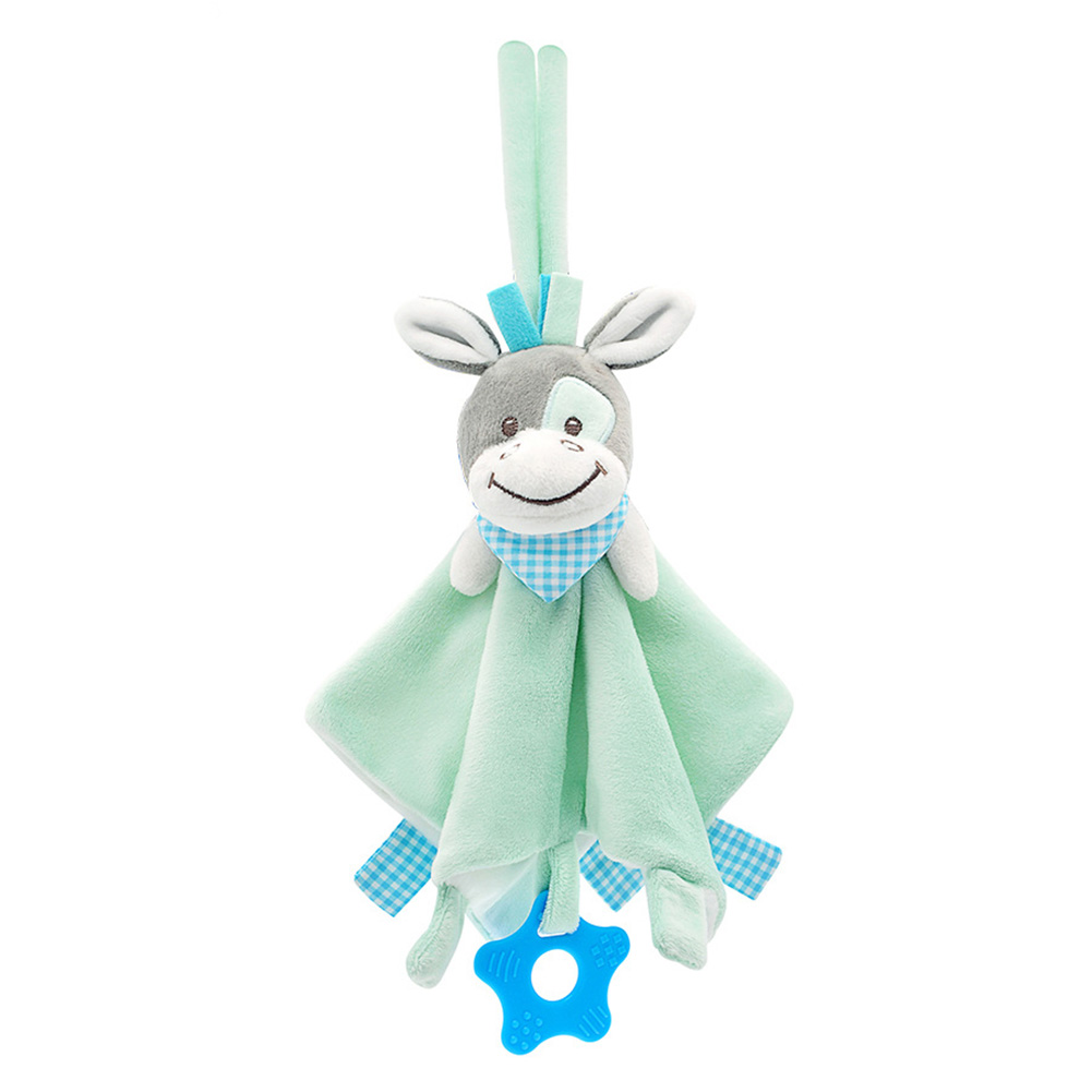 Cute Sleep Baby Rattle Toy Animal Shaped Eco Friendly Home Non Toxic Easy Install Safe Comforter Bed Car Hanging Early Education