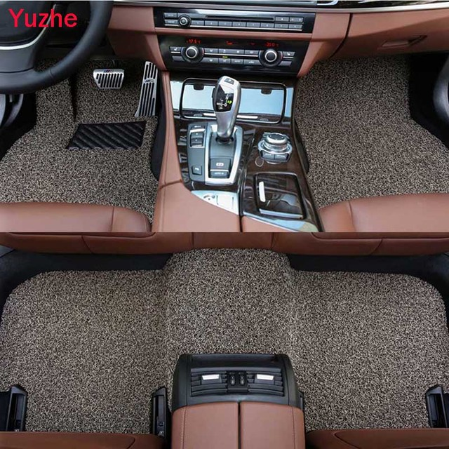 Yuzhe Custom car floor Foot mats for Nissan Qashqai Note Murano March Teana Tiida Almera X-trail car accessories auto styling
