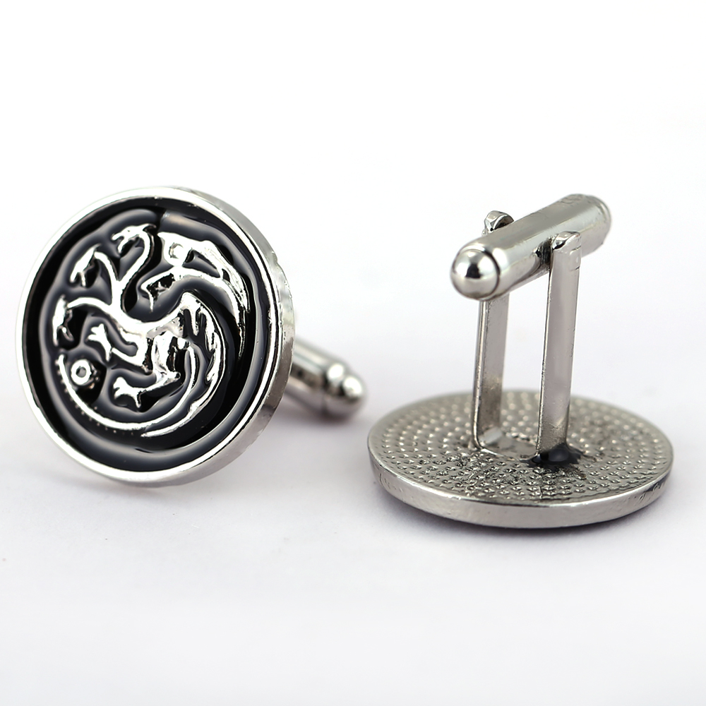 Mj quality song of ice and fire house targaryen dragon for Dragon gifts for men