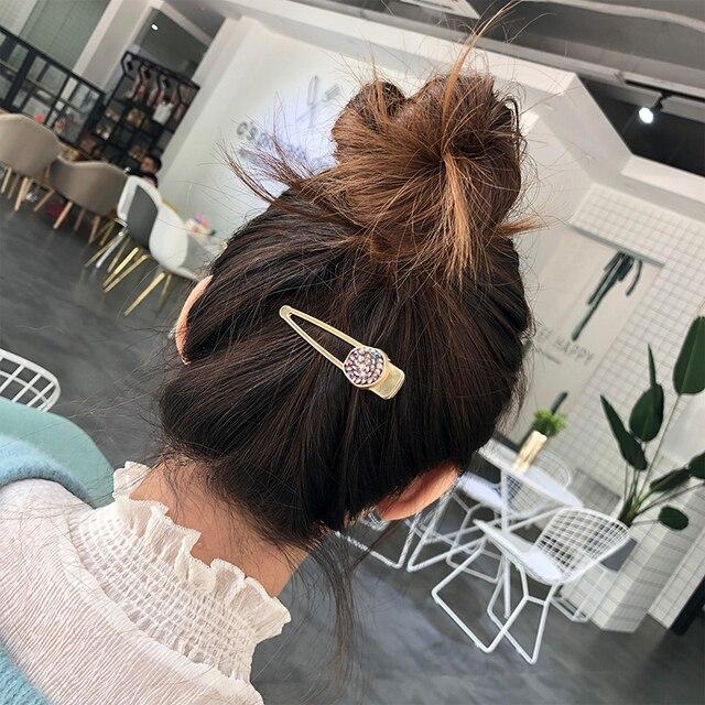Заколки для волос chimera Стразы Утконос 2 шт Блестящие кристаллы