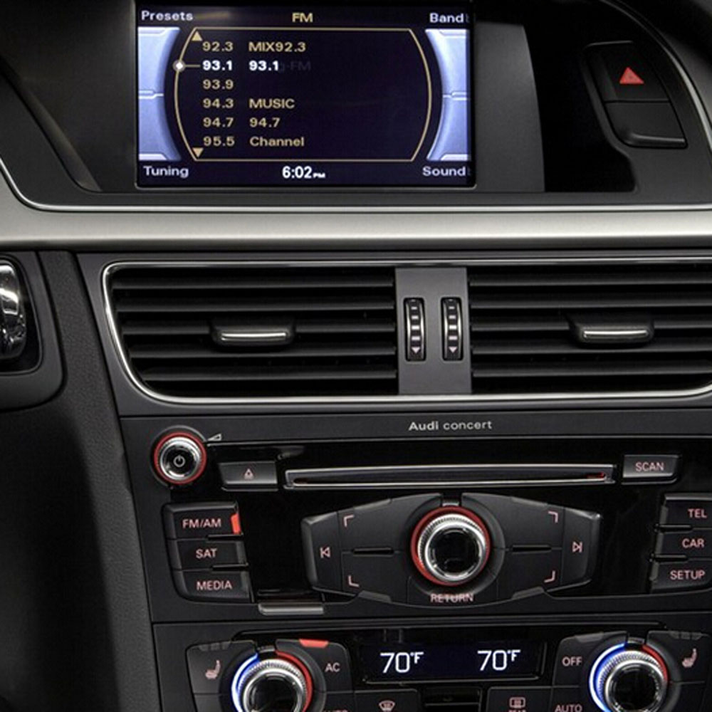 Provide a Handle Rear Camera Video Interface For Audi Systems 6.5 inch Original Display radio Symphony or Concert A4 A5 Q5
