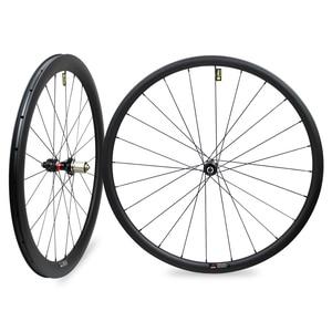 Image 1 - 29er Mtb Disc Wheels 28x24mm Tubeless NOVATEC D411SB/D412SB Ultralight Carbon Mtb Wheels 1330g±30g Bike Disc Wheelset 1423 Spoke