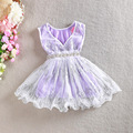 HIHEART 2016 New Fashion Summer Baby Girls Party Princess Dresses Children Sequin Casual Tutu Dresses Children Cute Clothing