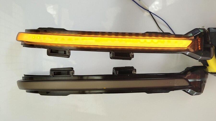 for VW GTI Golf 7 LED Dynamic Scroll Turn Signal GTD MK7 7 5 Rline GTE