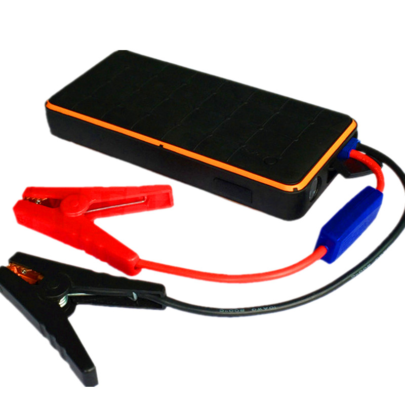 Waterproof Car Jump Starter Portable Power Bank 12V Car Charger Battery for Auto Booster Buster Petrol Diesel Starting Device 2017 multi function starting device 12v car jump starter portable power bank charger car battery booster buster petrol diesel