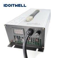 Подгонянное 1500 W ток 3 этап регулируемое зарядное устройство 60 V 19A 15A 12A ручной регулируемый ток зарядное устройство для аккумулятора