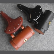 Kaile 1.5 L Classic Bike Bag Really Leather Saddle