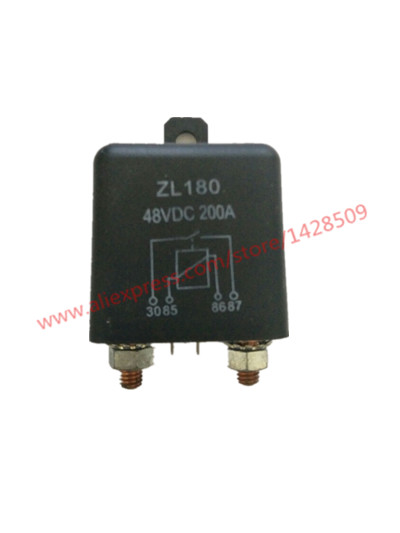 Car Relay 48V DC 200A Car Truck Motor Automotive Switch Car Relay Continuous Type and start relay jd2912 car relay