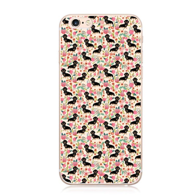Doxie Floral Cases (6 Different Designs)